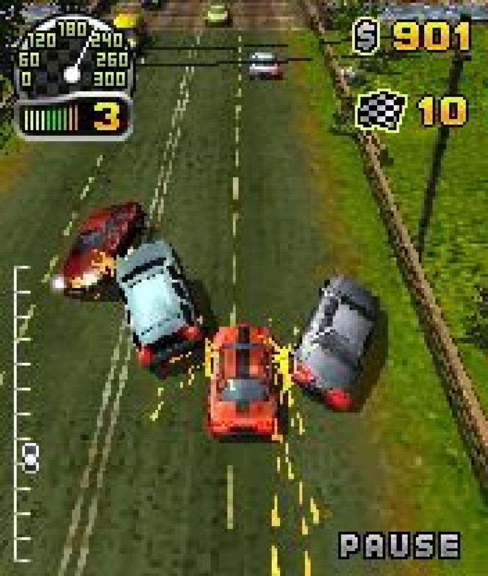 Screenshot ze hry R.U.S.H. - Road Utlimate Speed Hunting - Recenze-her.cz