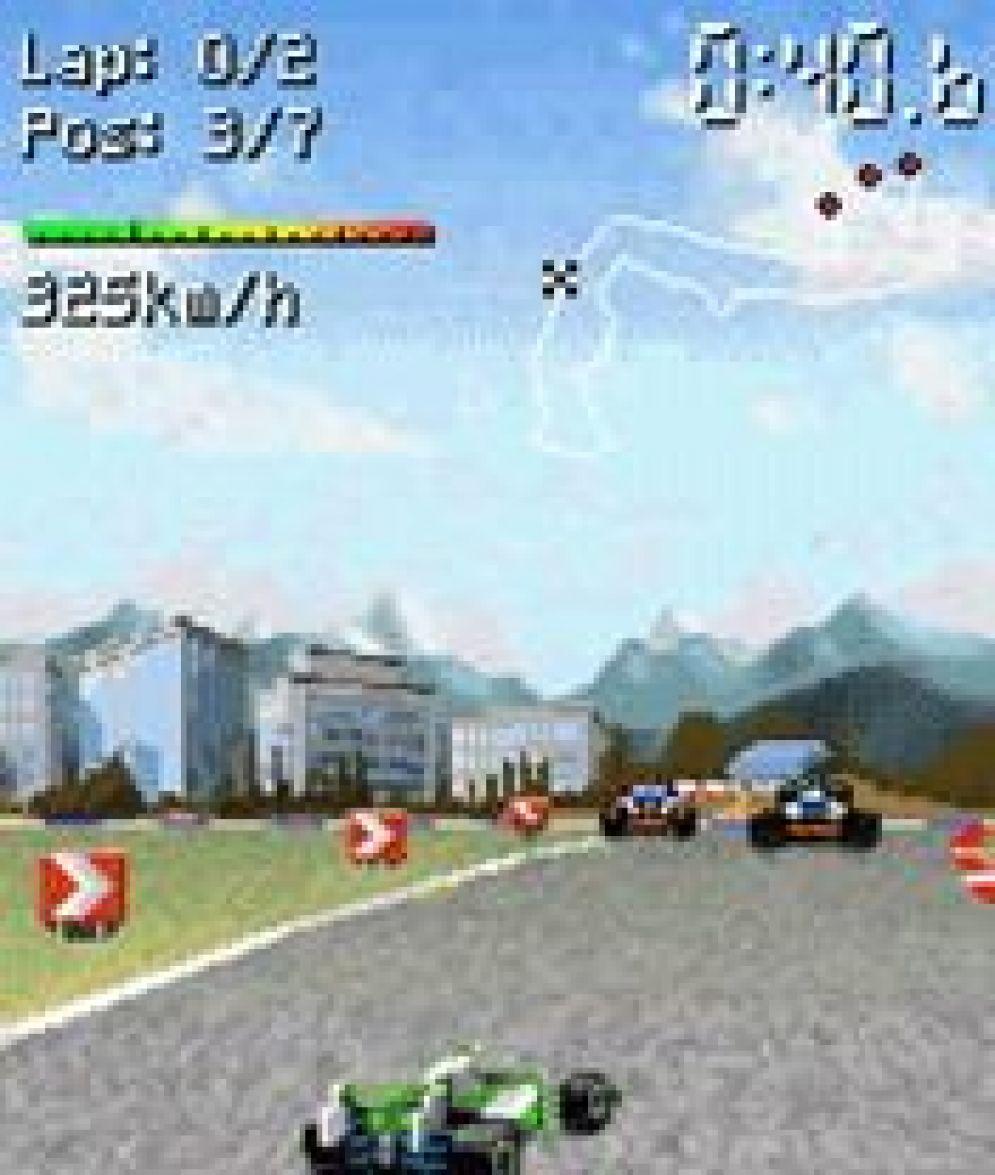 Screenshot ze hry Racing Masters 2008 - Recenze-her.cz