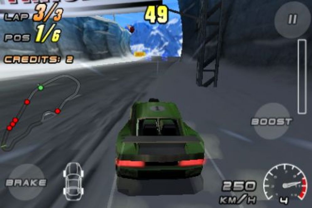 Screenshot ze hry Raging Thunder 2 - Recenze-her.cz