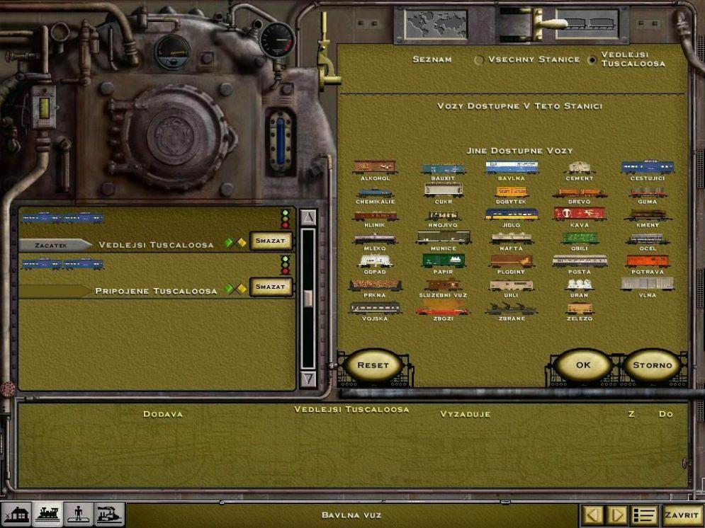 Screenshot ze hry Railroad Tycoon 2 Platinum - Recenze-her.cz