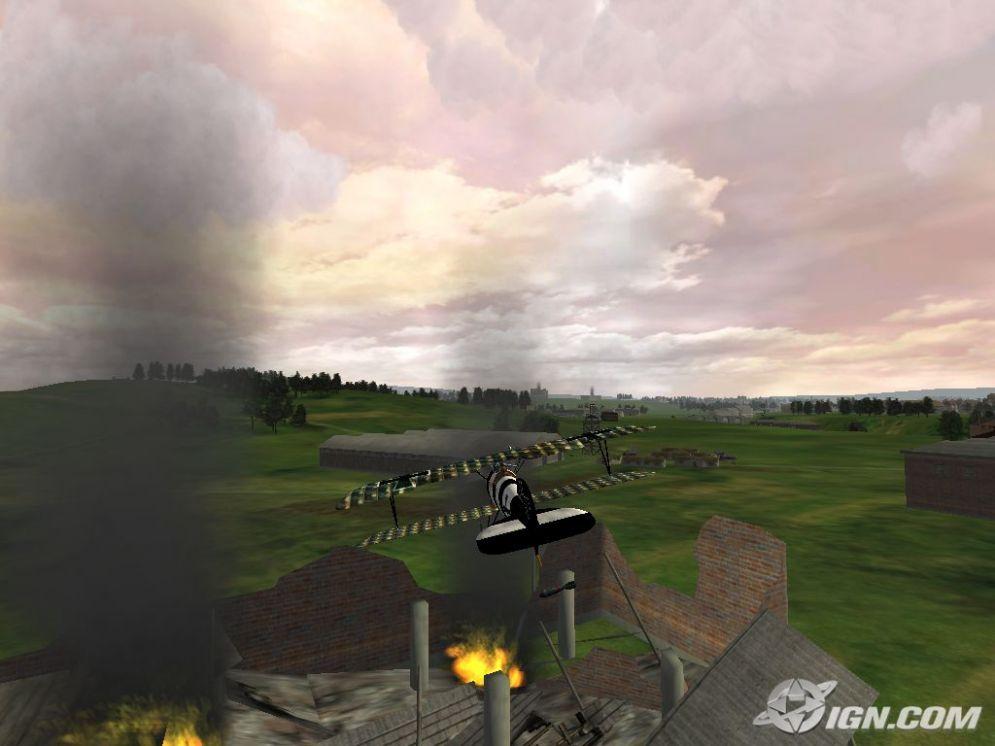 Screenshot ze hry Red Baron Arcade - Recenze-her.cz