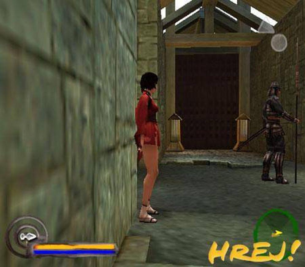 Screenshot ze hry Red Ninja: End of Honor - Recenze-her.cz