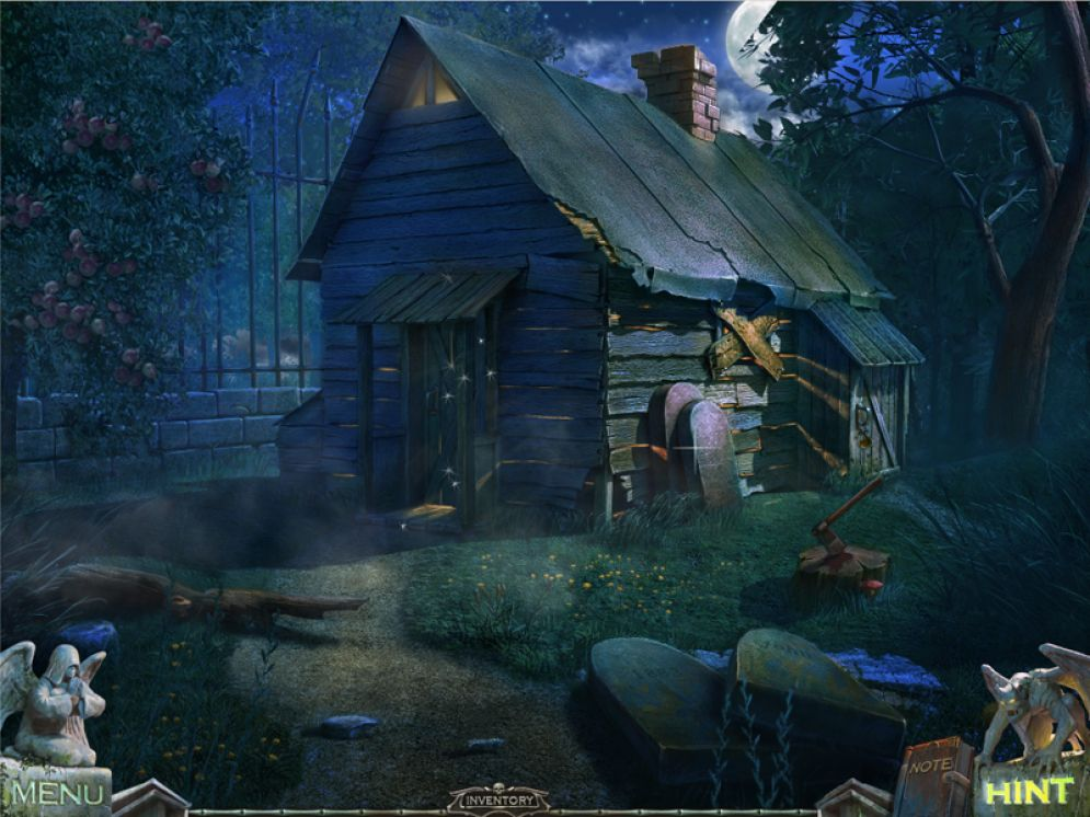 Screenshot ze hry Redemption Cemetery: Curse of the Raven - Recenze-her.cz