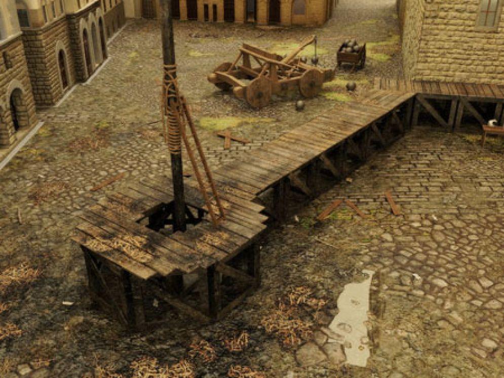 Screenshot ze hry Rinascimento Florence 1529 - Recenze-her.cz