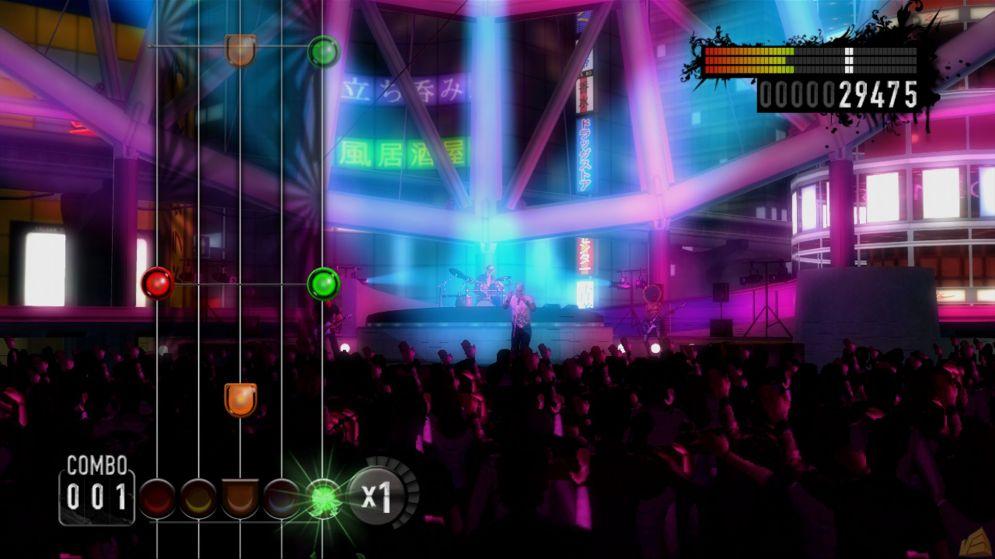 Screenshot ze hry Rock Revolution - Recenze-her.cz