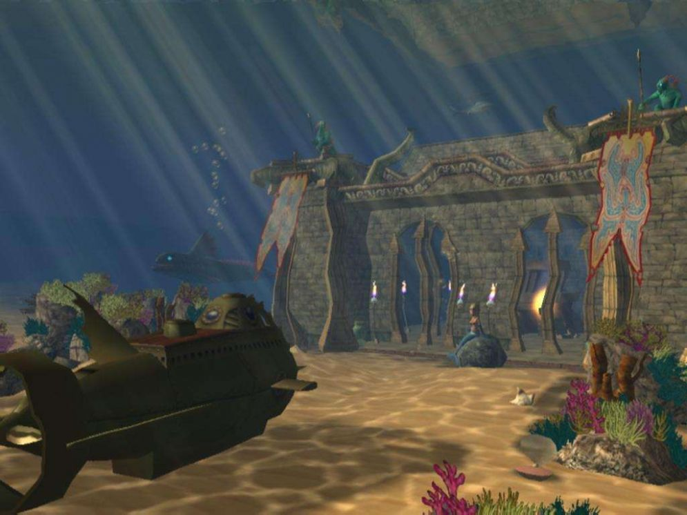 Screenshot ze hry RollerCoaster Tycoon 3: Soaked! - Recenze-her.cz