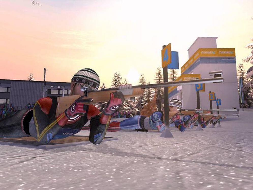 Screenshot ze hry RTL Biathlon 2008 - Recenze-her.cz