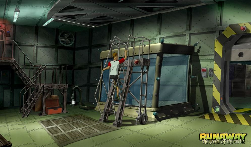 Screenshot ze hry Runaway 2: Želví Sen - Recenze-her.cz