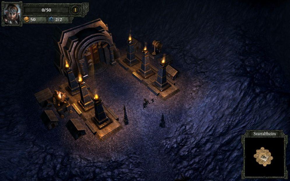 Screenshot ze hry Runemaster - Recenze-her.cz
