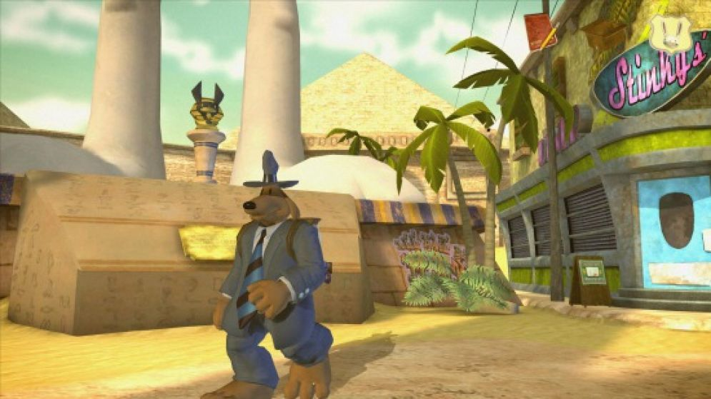 Screenshot ze hry Sam and Max 3 Episode 3: They Stole Maxs Brain - Recenze-her.cz