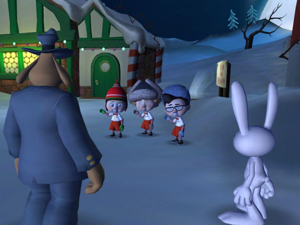 Screenshot ze hry Sam & Max Episode 201: Ice Station Santa - Recenze-her.cz