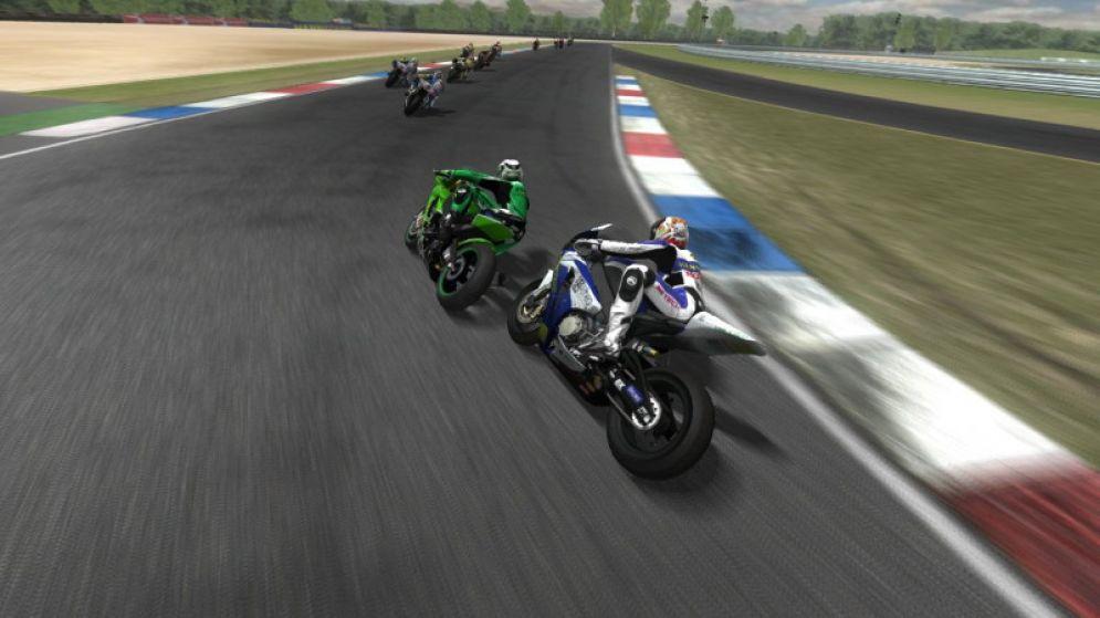 Screenshot ze hry SBK 08 Superbike World Championship  - Recenze-her.cz