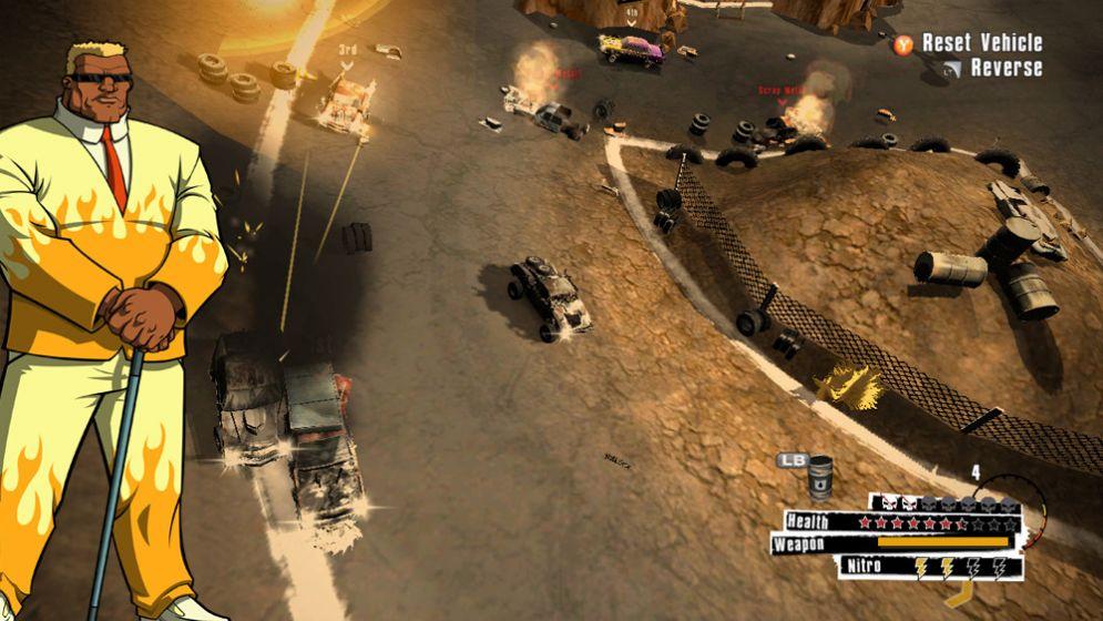 Screenshot ze hry Scrap Metal - Recenze-her.cz