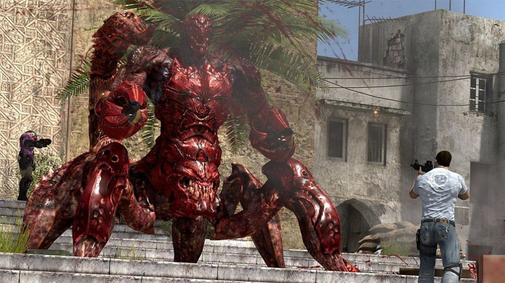 Screenshot ze hry Serious Sam 3: BFE a Jewel of the Nile - Recenze-her.cz