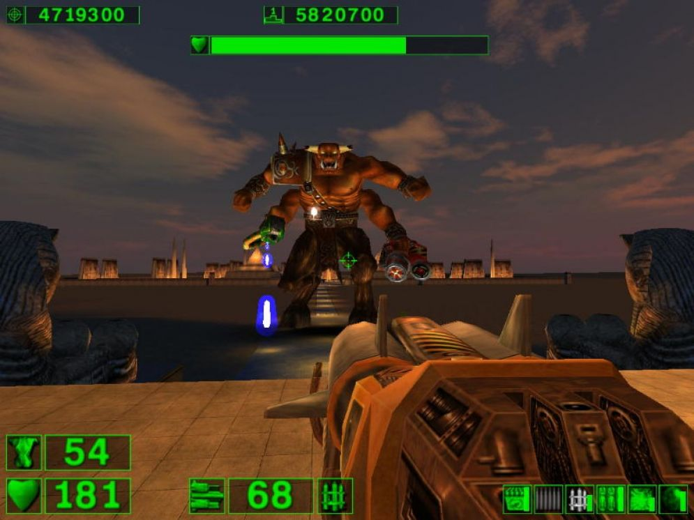 Screenshot ze hry Serious Sam: The First Encounter - Recenze-her.cz