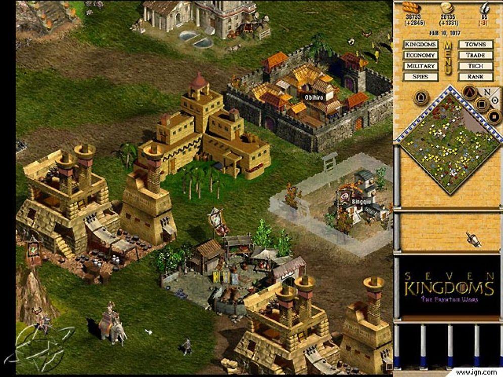 Screenshot ze hry Seven Kingdoms 2: The Fryhtan Wars - Recenze-her.cz