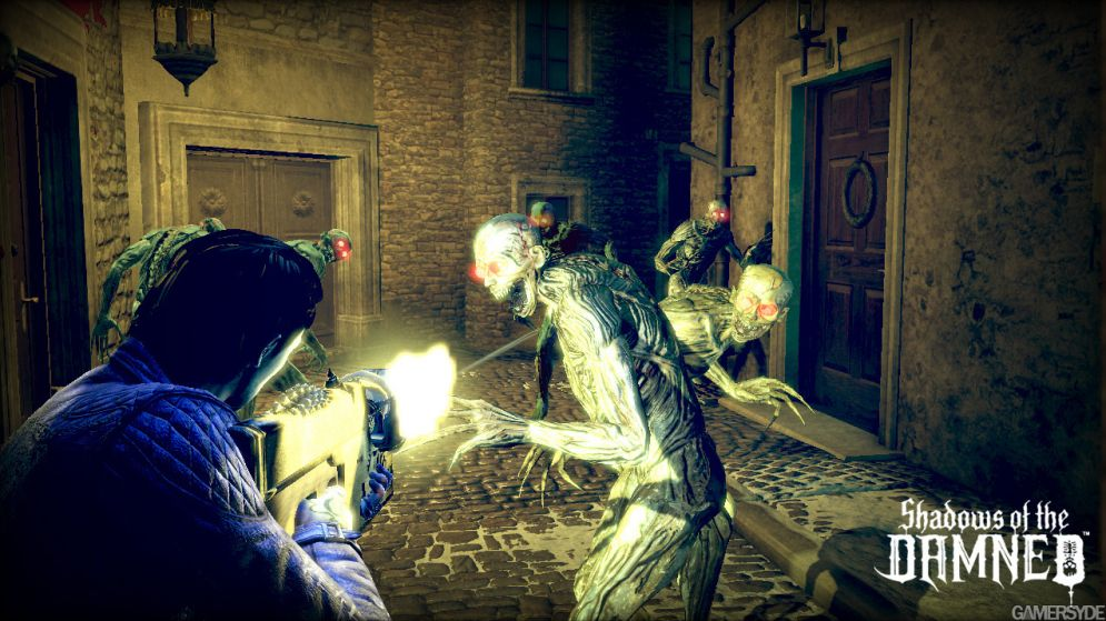 Screenshot ze hry Shadows of the Damned - Recenze-her.cz