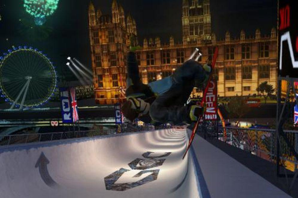 Screenshot ze hry Shaun White Snowboarding: World Stage - Recenze-her.cz