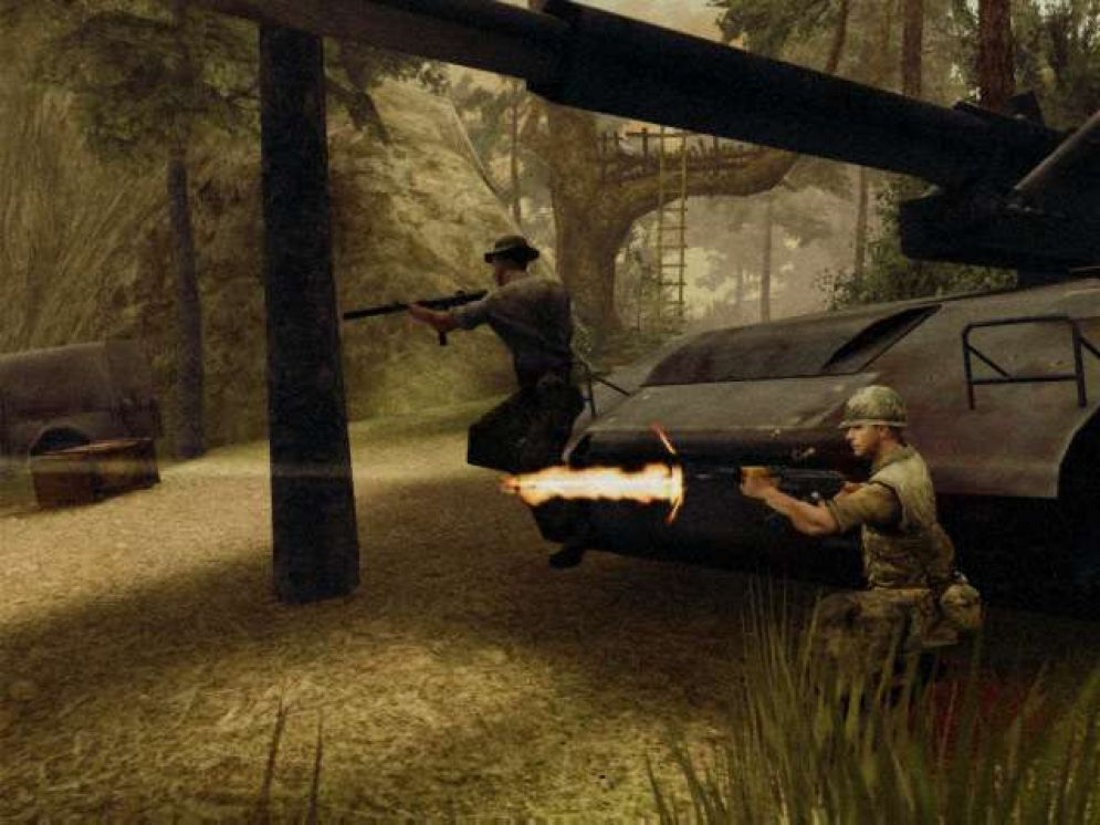 Screenshot ze hry ShellShock: Nam ´67 - Recenze-her.cz