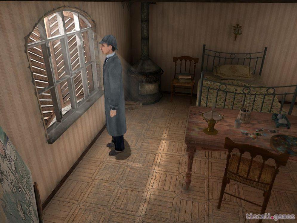 Screenshot ze hry Sherlock Holmes: Případ stříbrné náušnice - Recenze-her.cz