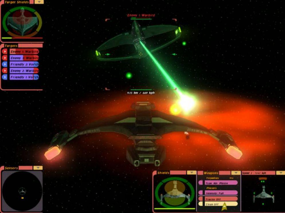 Screenshot ze hry Star Trek: Bridge Commander - Recenze-her.cz