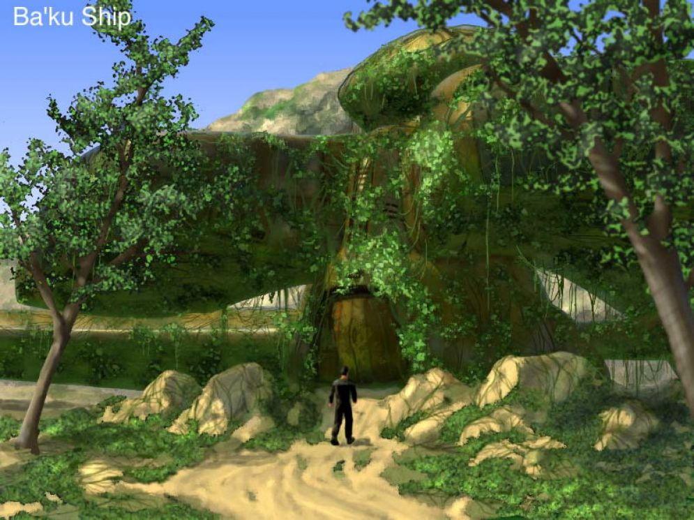 Screenshot ze hry Star Trek: Hidden Evil - Recenze-her.cz