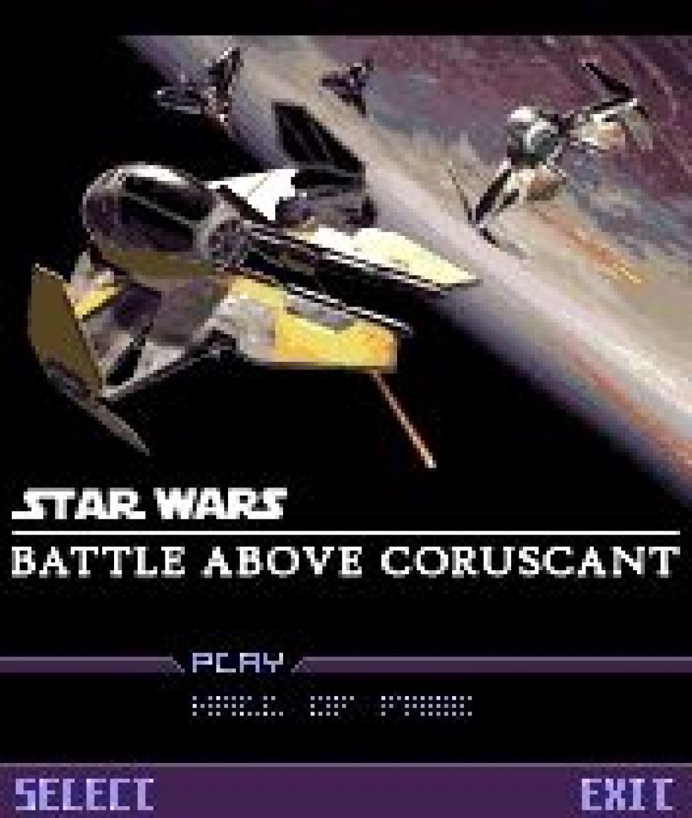 Screenshot ze hry Star Wars: Battle Above Coruscant - Recenze-her.cz