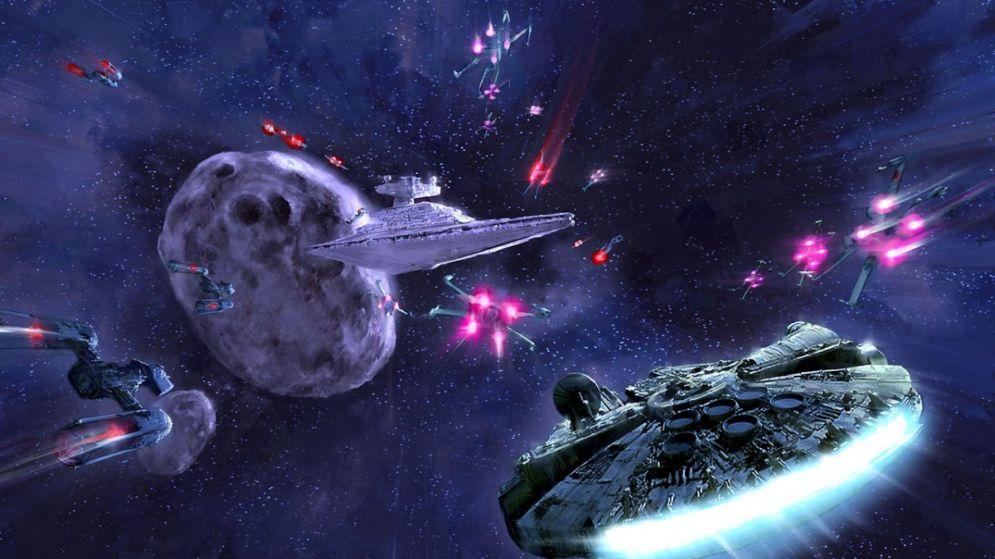 Screenshot ze hry Star Wars: Battlefront - Renegade Squadron - Recenze-her.cz