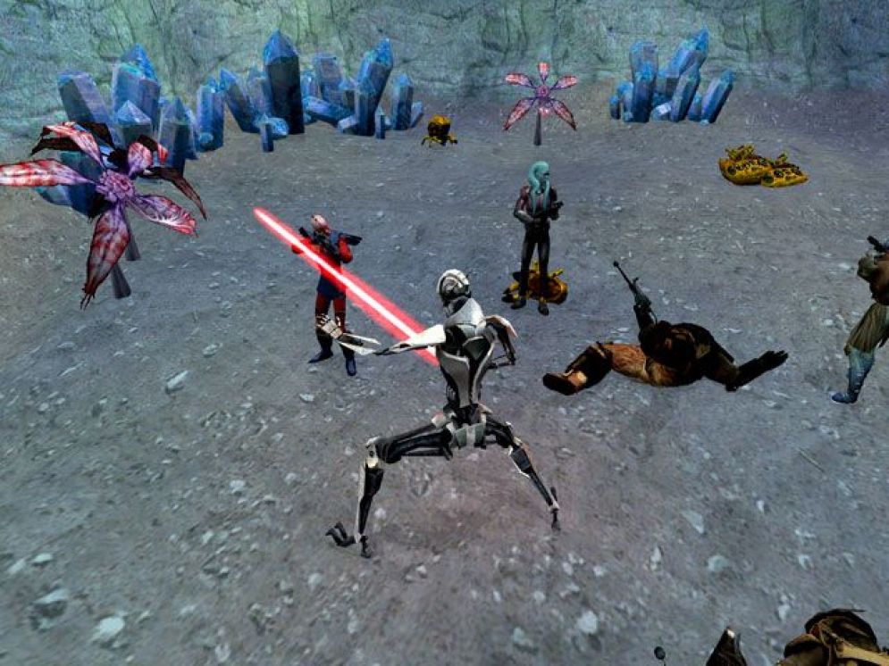 Screenshot ze hry Star Wars Galaxies: Rage of the Wookies - Recenze-her.cz
