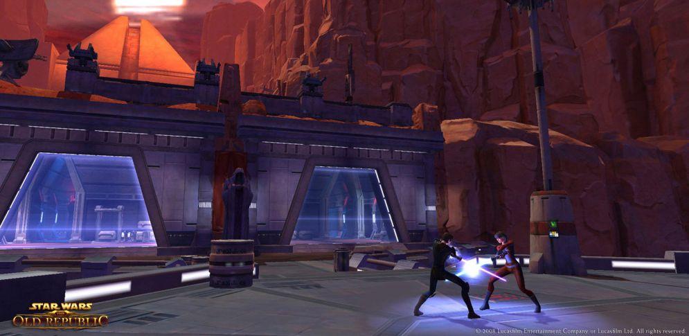 Screenshot ze hry Star Wars: The Old Republic - Recenze-her.cz