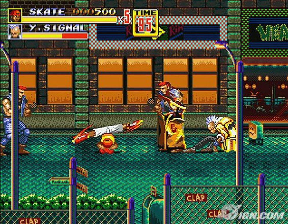 Screenshot ze hry Streets of Rage 2 - Recenze-her.cz