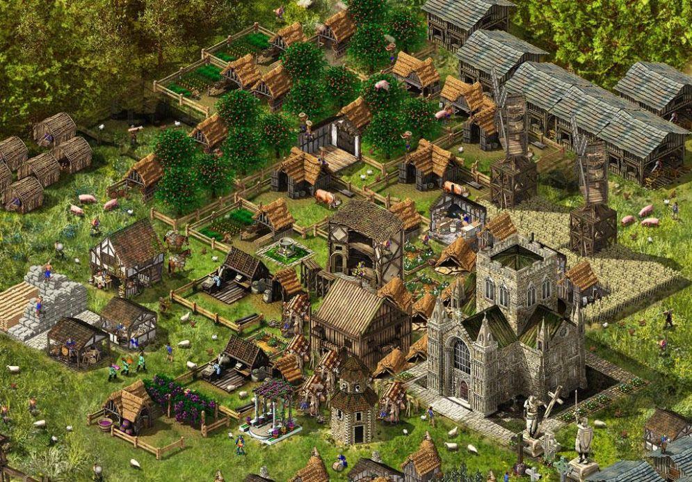 Screenshot ze hry Stronghold Kingdoms - Recenze-her.cz