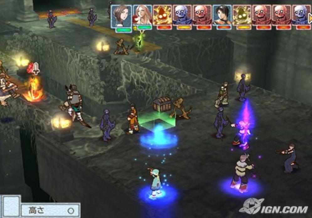 Screenshot ze hry Suikoden Tactics - Recenze-her.cz
