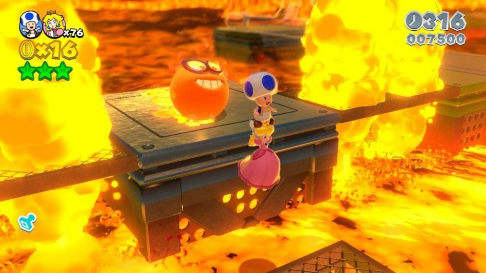 Screenshot ze hry Super Mario 3D World - Recenze-her.cz