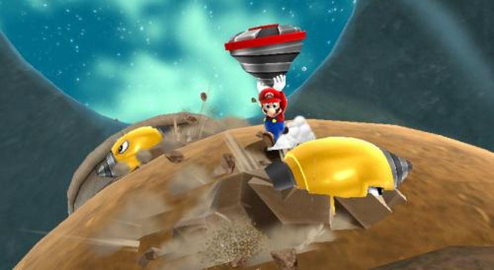 Screenshot ze hry Super Mario Galaxy 2 - Recenze-her.cz