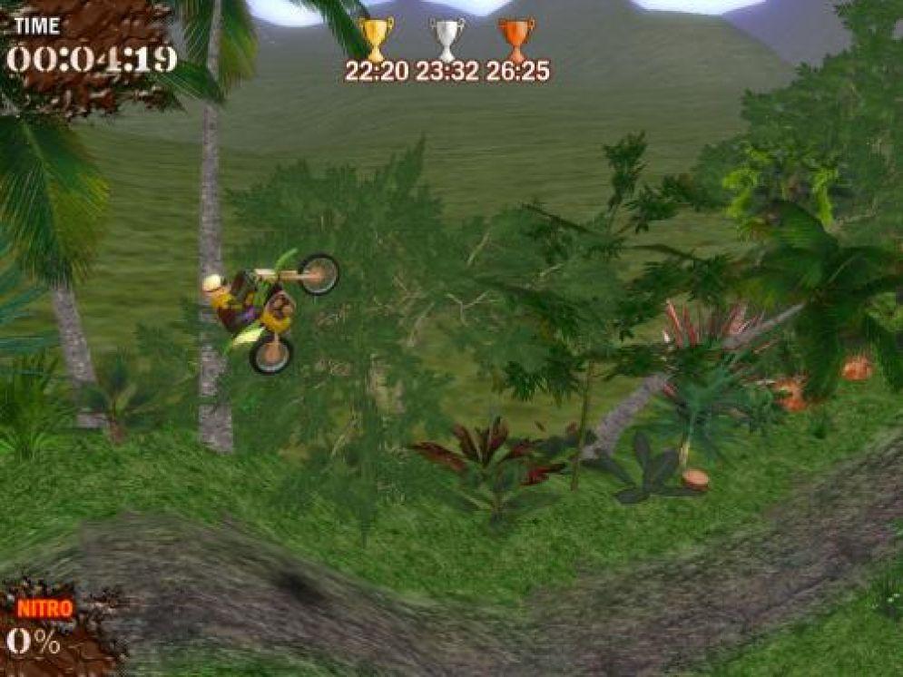 Screenshot ze hry Super Motocross - Recenze-her.cz
