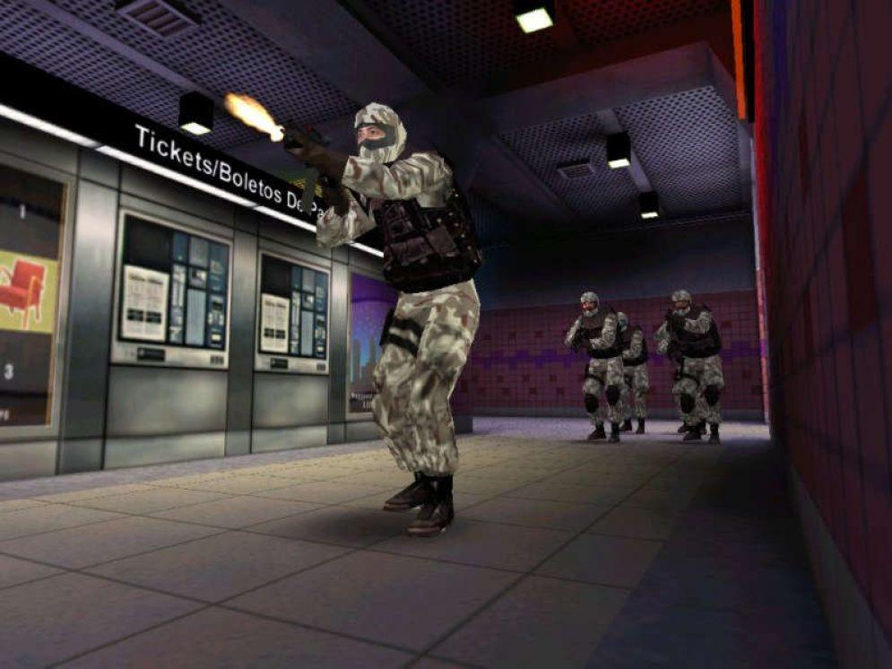 Screenshot ze hry SWAT 3: Elite Edition - Recenze-her.cz