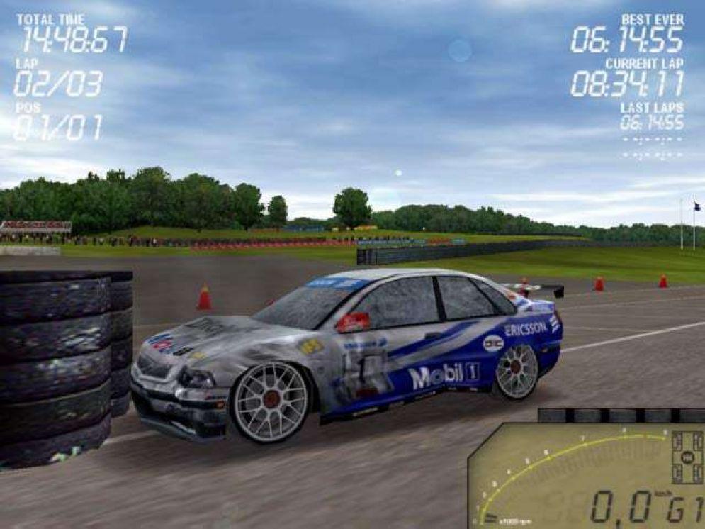 Screenshot ze hry Swedish Touring Car Championship 2 - Recenze-her.cz