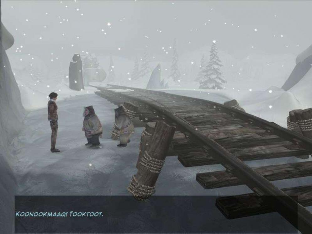 Screenshot ze hry Syberia II - Recenze-her.cz