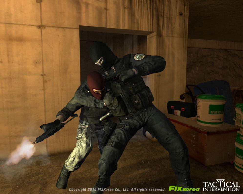 Screenshot ze hry Tactical Intervention - Recenze-her.cz