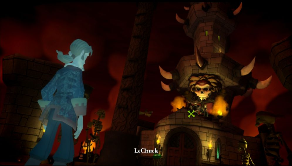 Screenshot ze hry Tales of Monkey Island - Chapter 5: Rise of the Pirate God - Recenze-her.cz