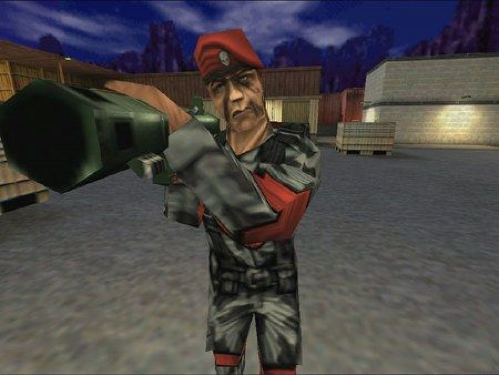 Screenshot ze hry Team Fortress Classic - Recenze-her.cz