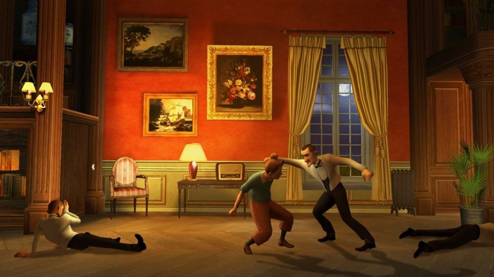 Screenshot ze hry The Adventures of Tintin: The Game - Recenze-her.cz