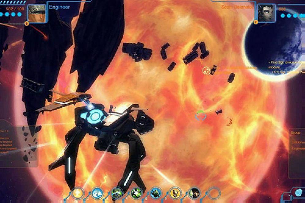 Screenshot ze hry The Blackstar Chronicles - Recenze-her.cz