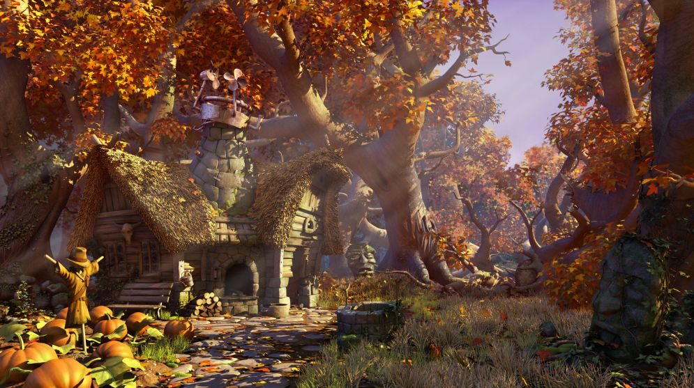 Screenshot ze hry The Book Of Unwritten Tales - Recenze-her.cz