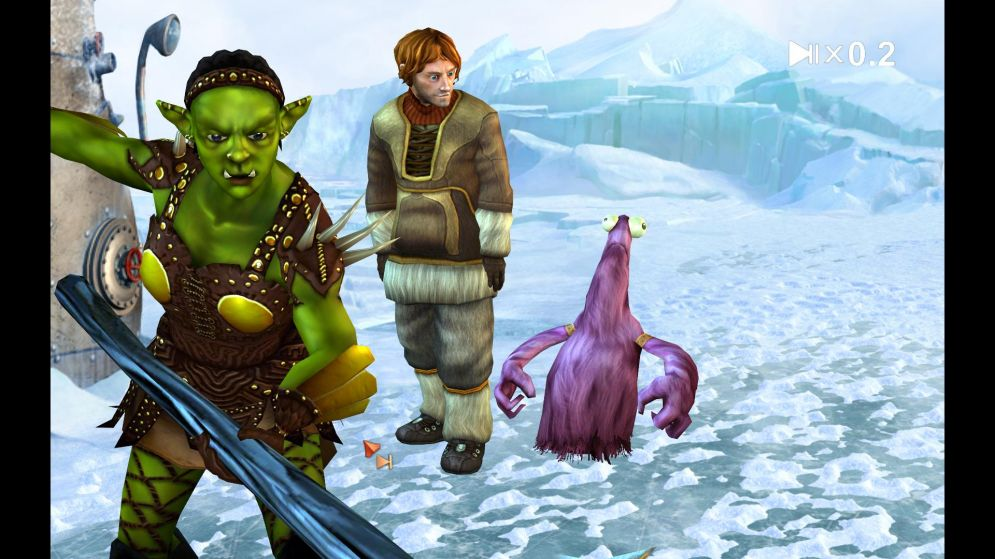 Screenshot ze hry The Book of Unwritten Tales: The Critter Chronicles - Recenze-her.cz