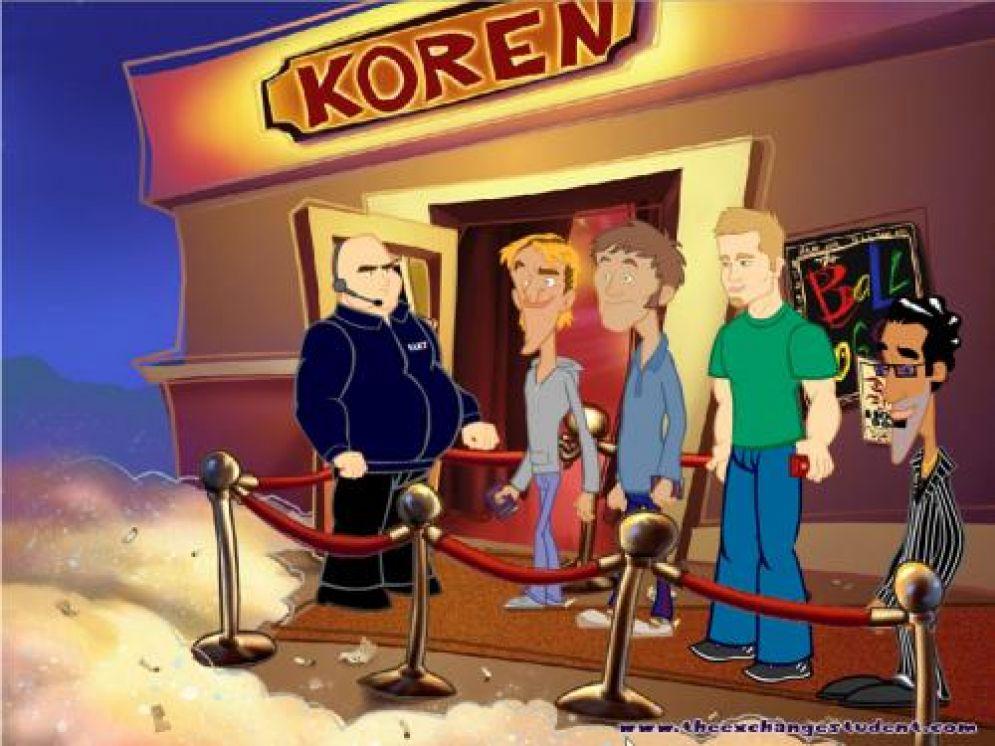 Screenshot ze hry The Exchange Student - Recenze-her.cz