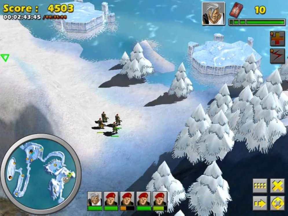 Screenshot ze hry The Gladiators: Galactic Circus Games  - Recenze-her.cz