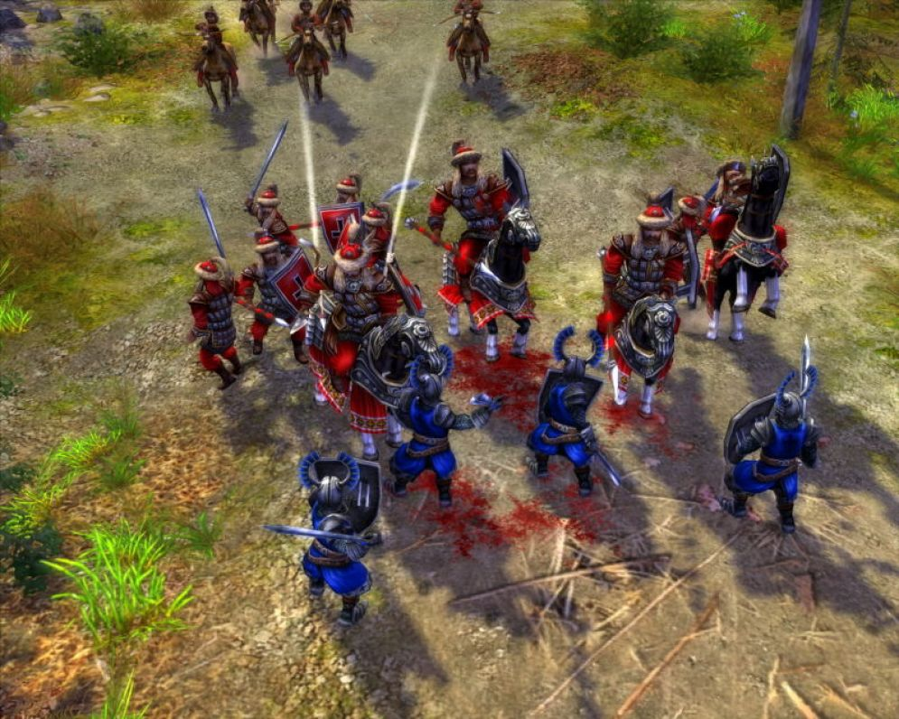 Screenshot ze hry The Golden Horde - Recenze-her.cz