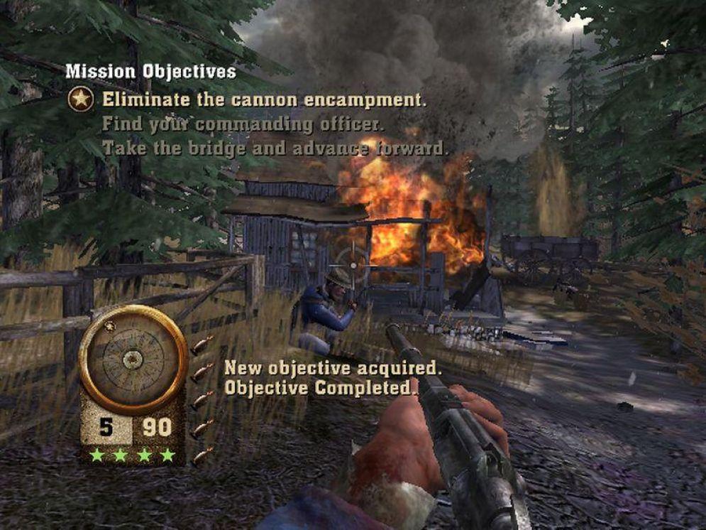 Screenshot ze hry The History Channel: Civil War - Recenze-her.cz